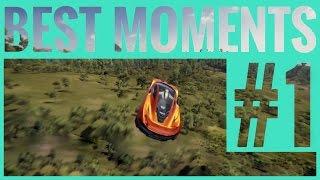 Forza Horizon 3 | Best Funny Moments | Fails & Wins Compilation #1