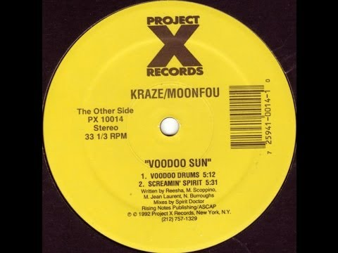 Kraze/Moonfou - Voodoo Sun (Screamin' Spirit)
