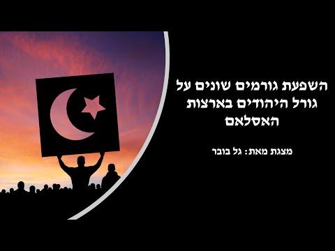 השפעת גורמים שונים על גורל היהודים בארצות האסלאם