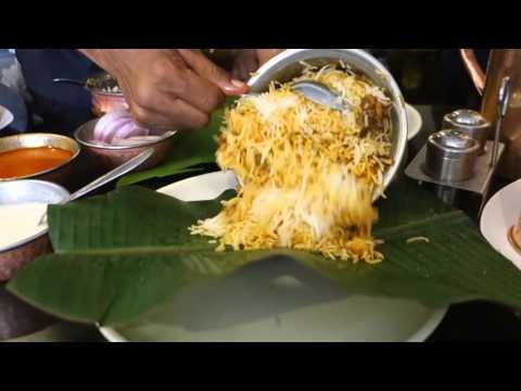 Taste of Hyderabad-Biryani at Kritunga Restaurant
