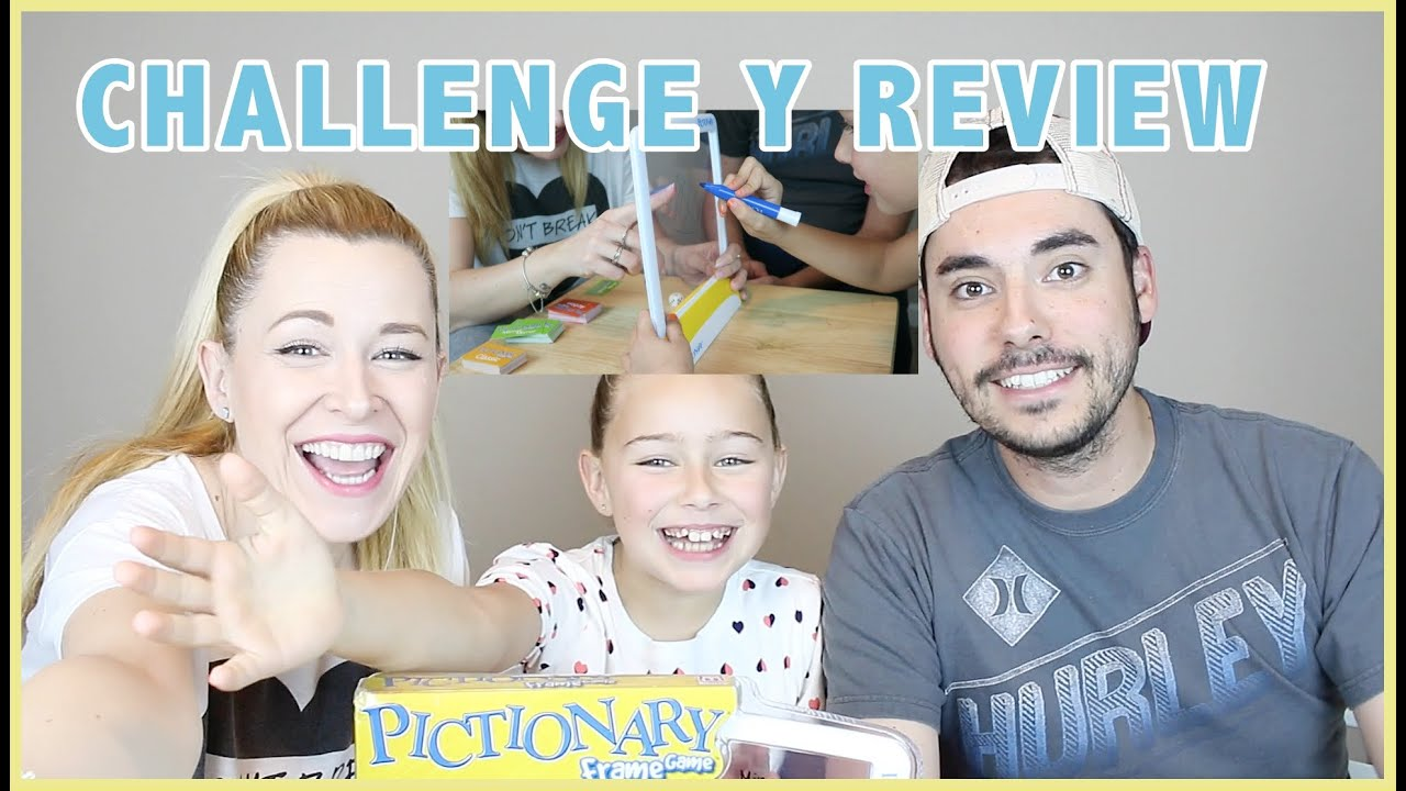 PICTIONARY CHALLENGE Y REVIEW | Familia Carameluchi - YouTube