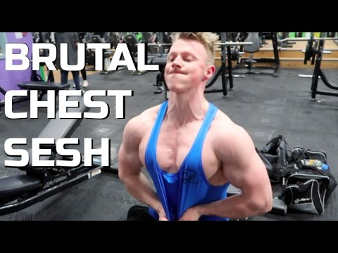 BRUTAL CHEST WORKOUT! No need for heavy weights... | GET SHREDDED: Week 8/12