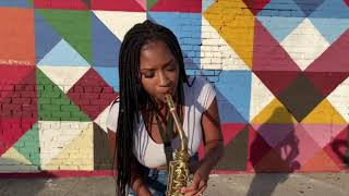 The Way- Jill Scott- Saxophone Cover
