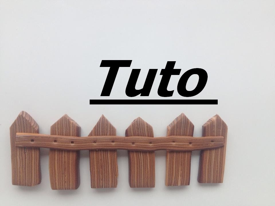 tuto fimo barri re en bois youtube. Black Bedroom Furniture Sets. Home Design Ideas