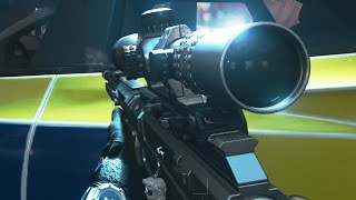10 Minutes of VINTAGE COD Sniping...(human aimbot on modern warfare)