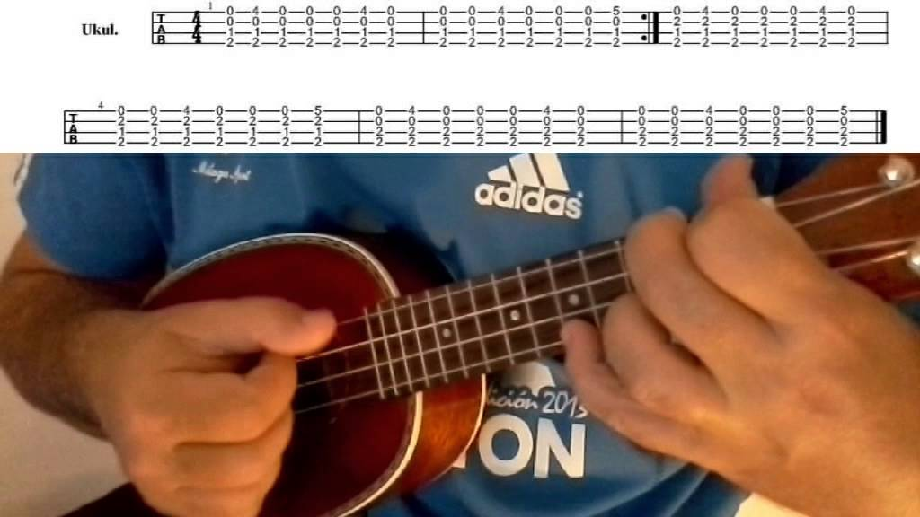 I lived One Repubblic (ukulele cover) how to play with tabs - YouTube