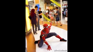 Spiderman In Sunway Pyramid!