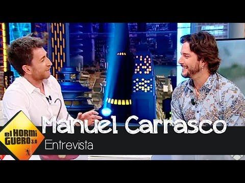 """Manuel Carrasco: """"Si no hubiera sufrido por amor, mis canciones no serían así"""" - El Hormiguero 3.0"""