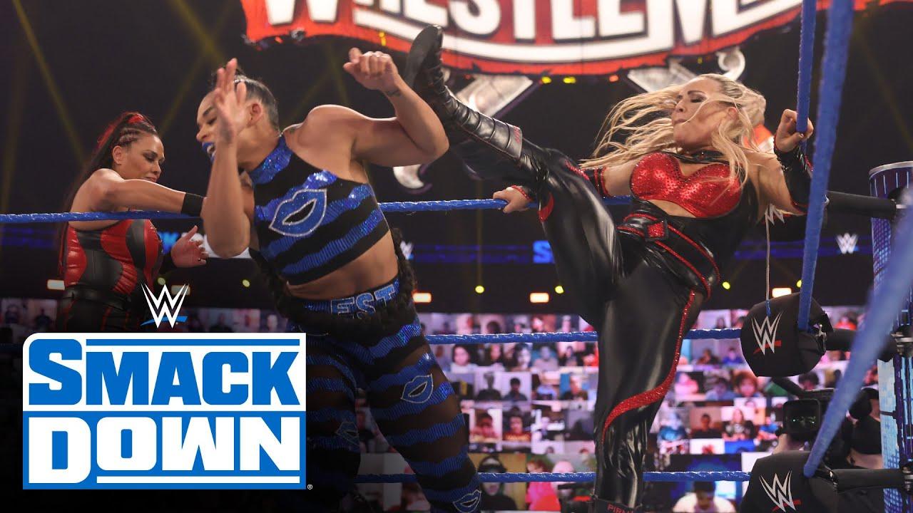 Sasha Banks & Bianca Belair vs. Natalya & Tamina: SmackDown, March 12, 2021