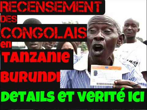 na burundi tanzanie affair resencement des congolais  + (dgm) immigration part: 1