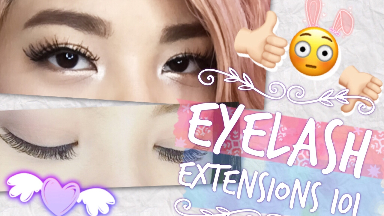 Eyelash extensions 101 pros and cons and q a for Cons 101