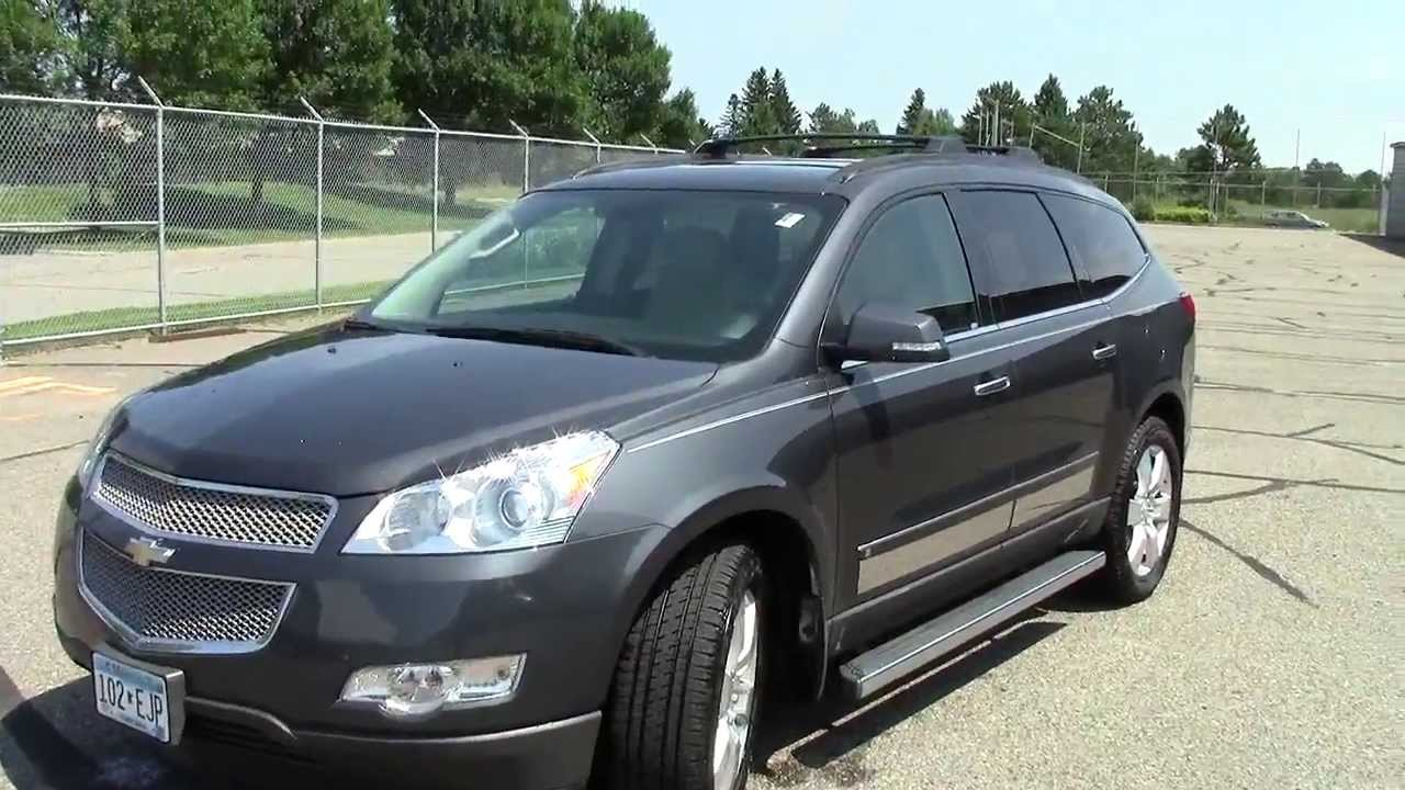 2010 Chevrolet Traverse Awd Ltz Youtube