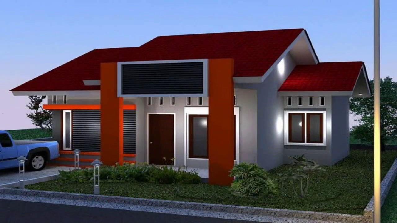 33 Contoh Desain Warna Cat Rumah Minimalis Terbaru