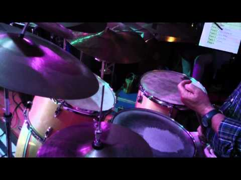 Techniques to play drums in jazz, latin jazz and brush by Omar Pazols with New Deep Orange Project