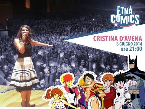 CRISTINA D'AVENA LIVE AT ETNA COMICS 2014