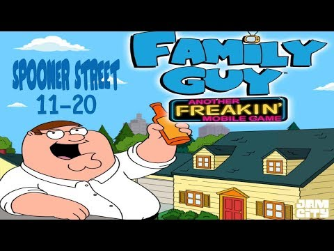 Family Guy - Another Freakin' Mobile Game: Spooner Street Levels 11-20