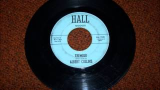 ALBERT COLLINS TREMBLE HALL RECORD LABEL