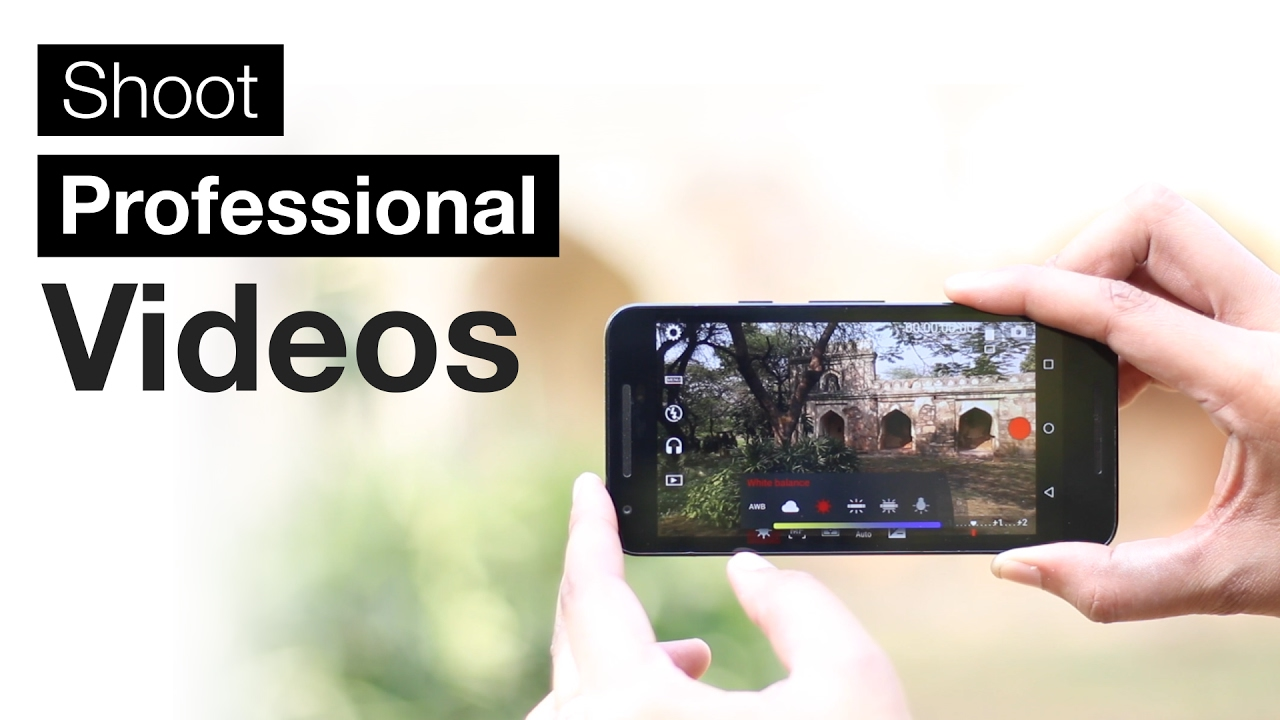 How to shoot video from Android 50