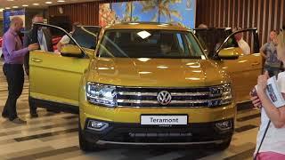 Обзор VW TERAMONT ВРЕМЯ КРОССОВЕРОВ смотреть