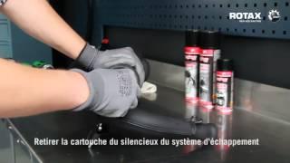Entretien du système d'échappement   moteur Rotax