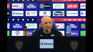 Cagliari-Hellas Verona, la conferenza stampa pre-gara