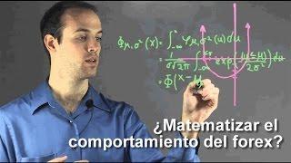 ¿Matematizar el comportamiento de forex?