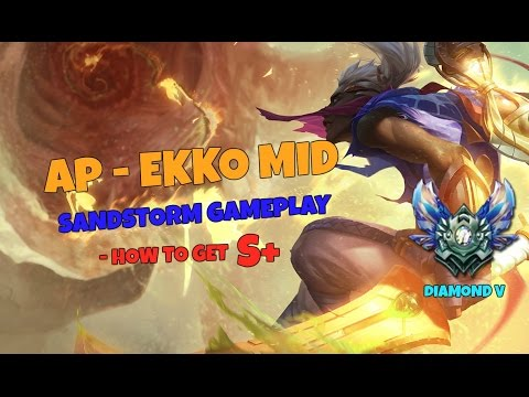 League Of Legends Ap Ekko Mid How To Get S Youtube