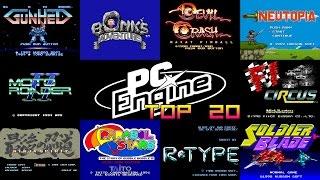 PC Engine/Turbo Grafx-16 Top 20 Games