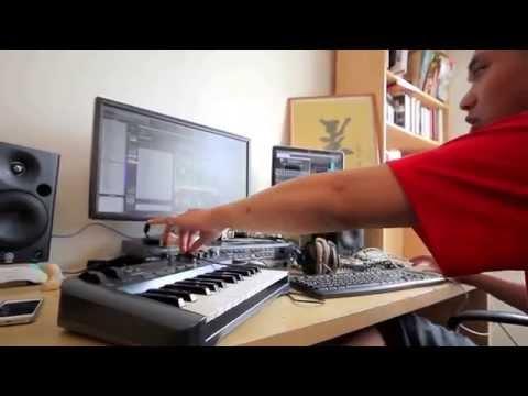 Nodey X Johnny Hallyday (beatmaking video)