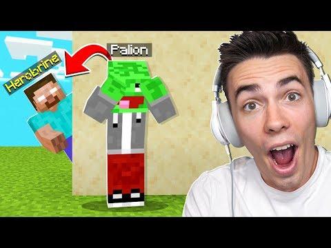 POWRÓT HEROBRINE TROLL Na PALIONIE W Minecraft!
