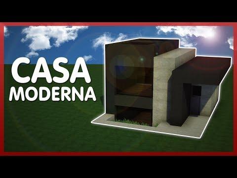 Minecraft como transformar una herreria de aldeanos for Casa moderna 9x9