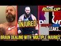 Braun Strowman INJURED?, BIG LEAKS For Survivor Series, Rumble FEUDS - The Round Up