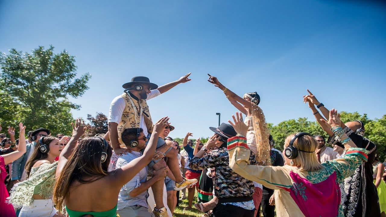 The BEST Wedding EVER - Bollywood meets Burning Man meets Ismaili Picnic