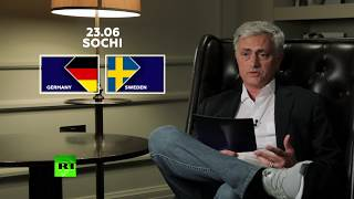 Experience matters: Jose Mourinho on upcoming match between Germany and Sweden