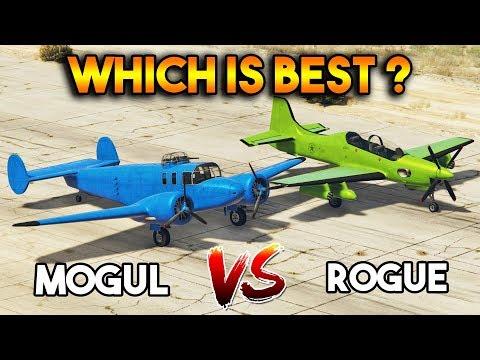 GTA 5 ONLINE : ROGUE VS MOGUL (WHICH IS BEST PLANE?)