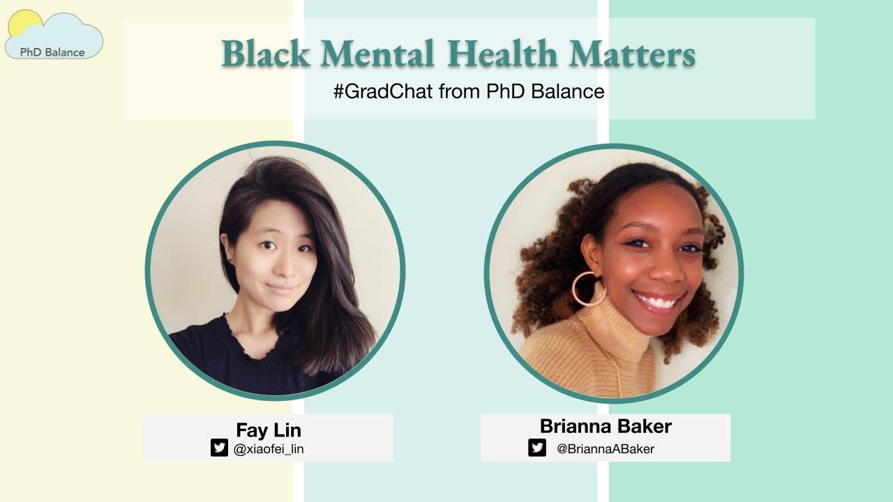 Black Mental Health Matters ~ w/ Brianna Baker