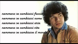 Riccardo Cocciante - QUANDO FINISCE UN AMORE + testo