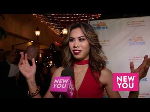 Ashley Argota at the Actors Fund's Looking Ahead Awards 811 1231453249167361