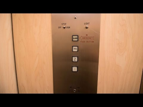 Vintage Montgomery Hydraulic Elevator - 20370 Town Center Lane, Cupertino, CA