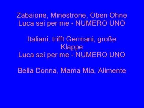 Matze Knop-Numero Uno (Luca Toni)