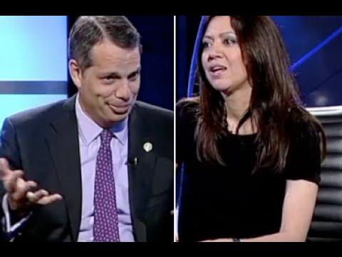 El cónsul de EEUU desarbola a la mujer de Puigdemont en TV