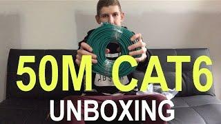 Unboxing 50 Metre CAT6 Ethernet Cable!