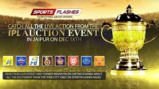 Live Action of IPL Auction 2019 | SportsFlashes