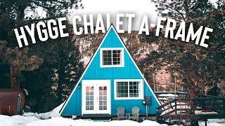 Hygge Chalet Airbnb Tour! | A-frame Cabin Full Tour!  Nashville Tornado Donation Video