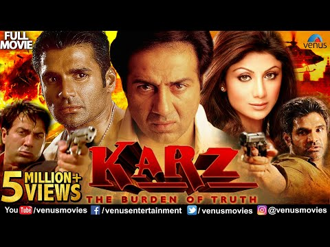 Karz Full Hindi Movie | Hindi Movie | Sunny Deol | Sunil Shetty | Shilpa Shetty | Hindi Action Movie