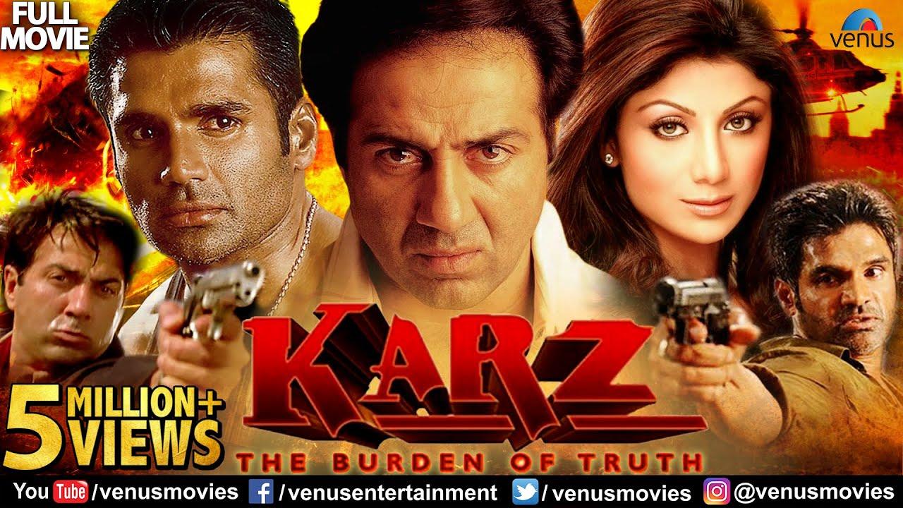 Download Karz Full Hindi Movie   Hindi Movie   Sunny Deol   Sunil Shetty   Shilpa Shetty   Hindi Action Movie