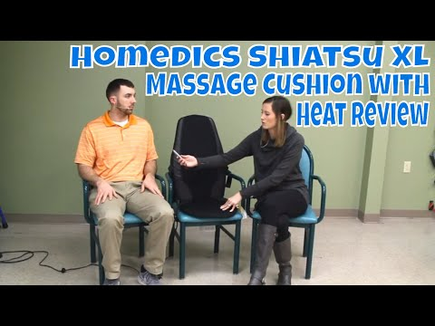 Homedics Shiatsu XL Massage Cushion with Heat Review