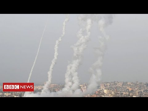Israel Hits Gaza With Deadly Airstrikes Amid Rocket Fire by Hamas