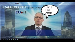 EUxit Scam Review, Can you Make Money Using EUxit? SCAM EXPOSED
