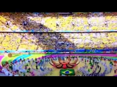 Terrible epic fail. Jennifer lopez fifa world cup 2014 build up fail.